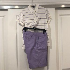 Ralph Lauren golf outfit